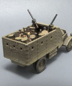 15mm Lancia armoured truck with Lewis Guns