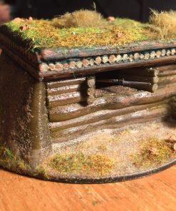 German (Soviet) machine gun bunker
