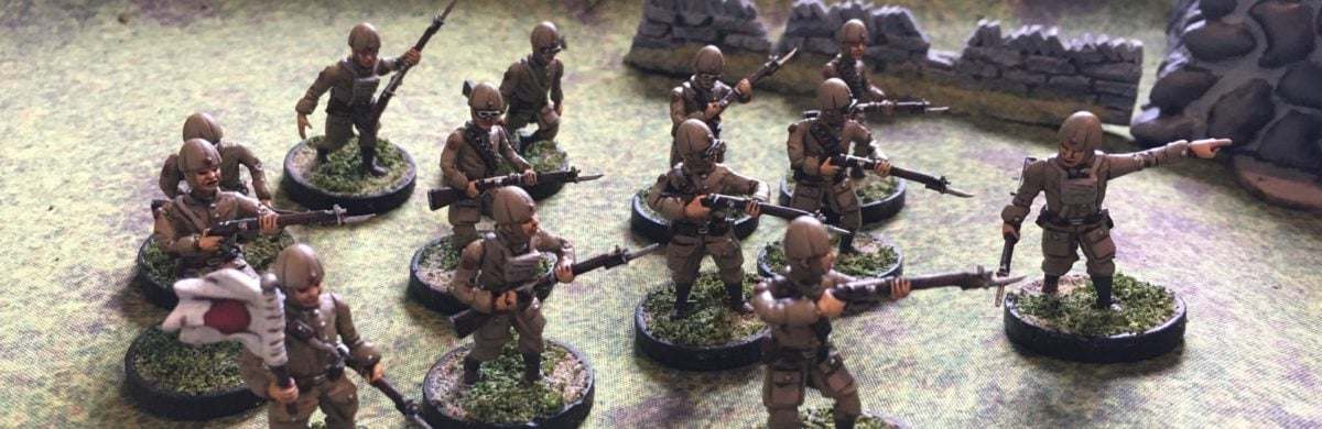 Red Dawn 3D Miniatures