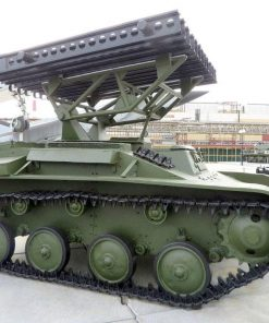 Katyusha launcher based on the Soviet T-60 tank