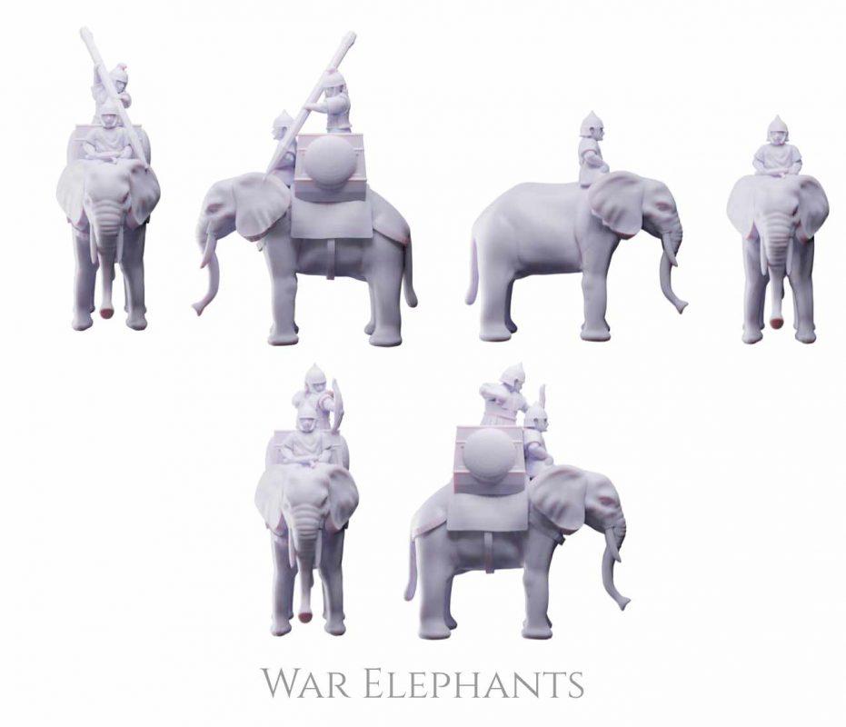 War Elephants available in Kickstarter