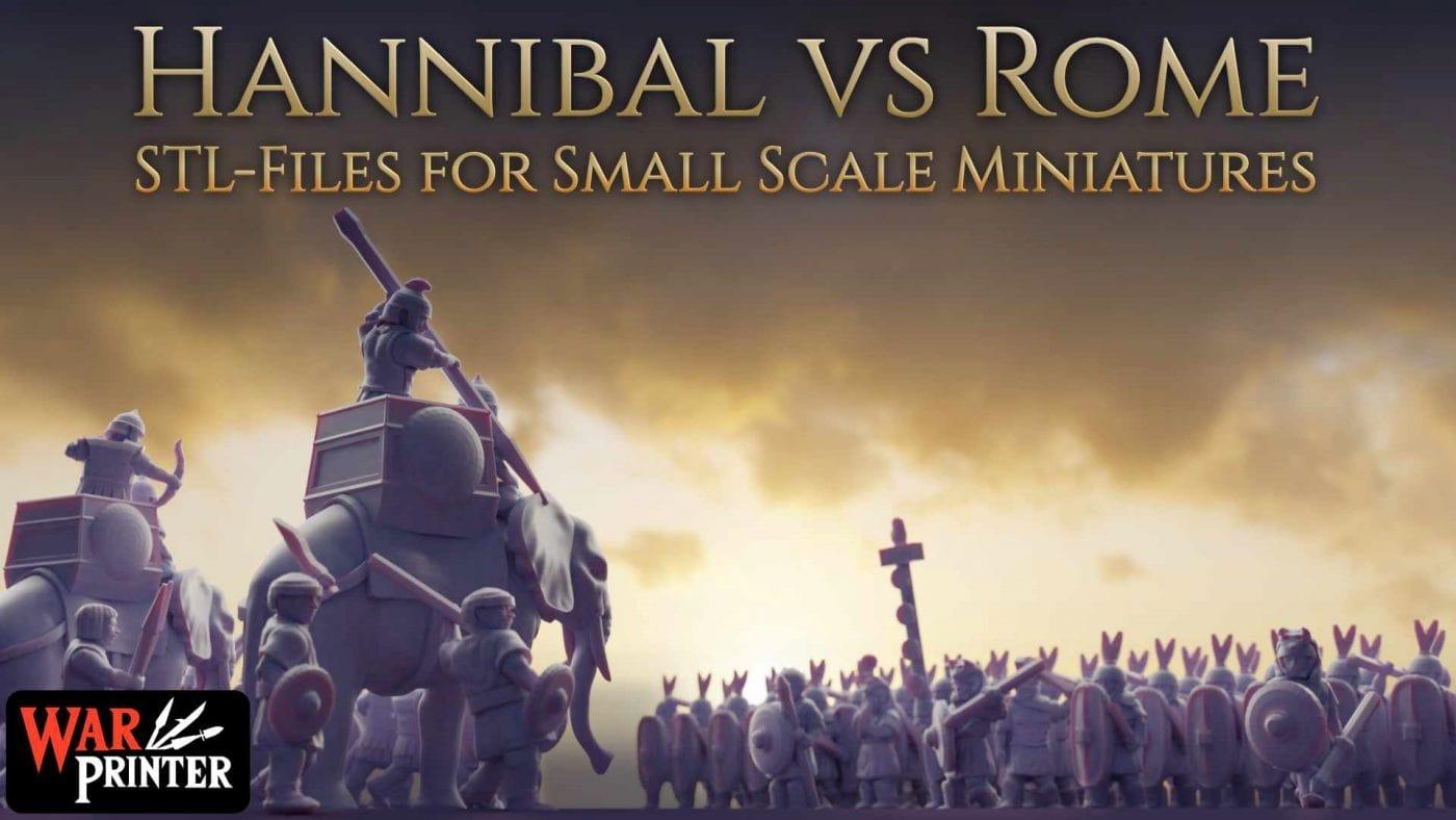 Hannibal vs Rome Title Image